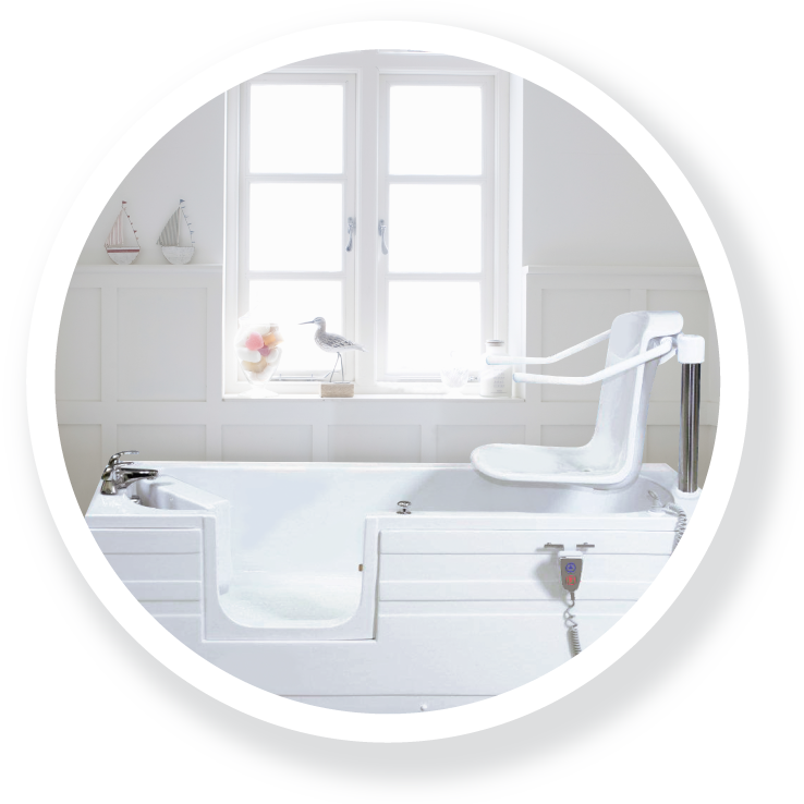 Bath tubs with seat UK
