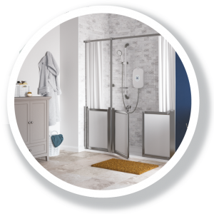 Easy access showers [city]